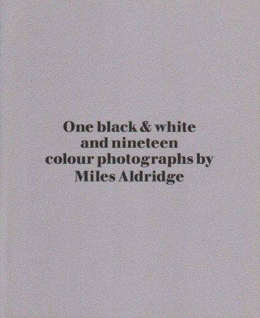 One black & white and nineteen colour photographs by Miles Aldridge [Signed]