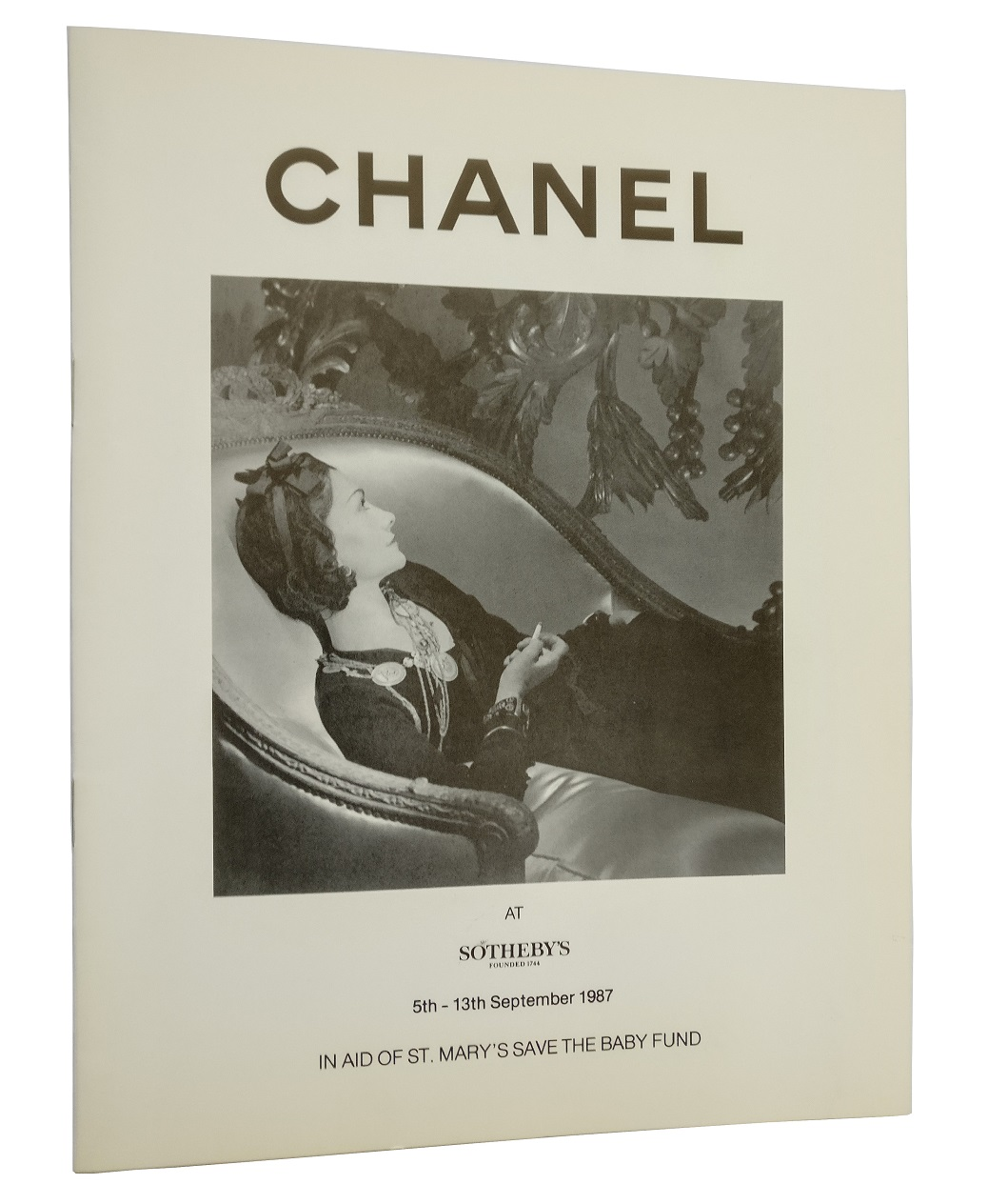 Chanel at Sotheby's in aid of St. Mary's Save the Baby Fund