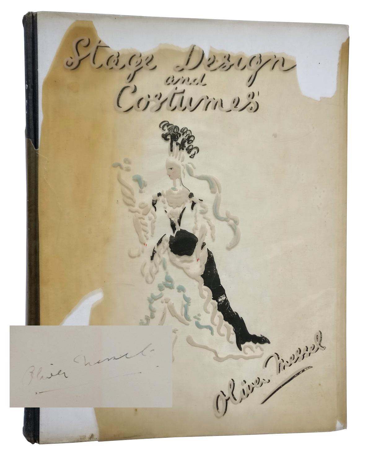 Oliver Messel. Stage Designs and Costumes [INSCRIBED]