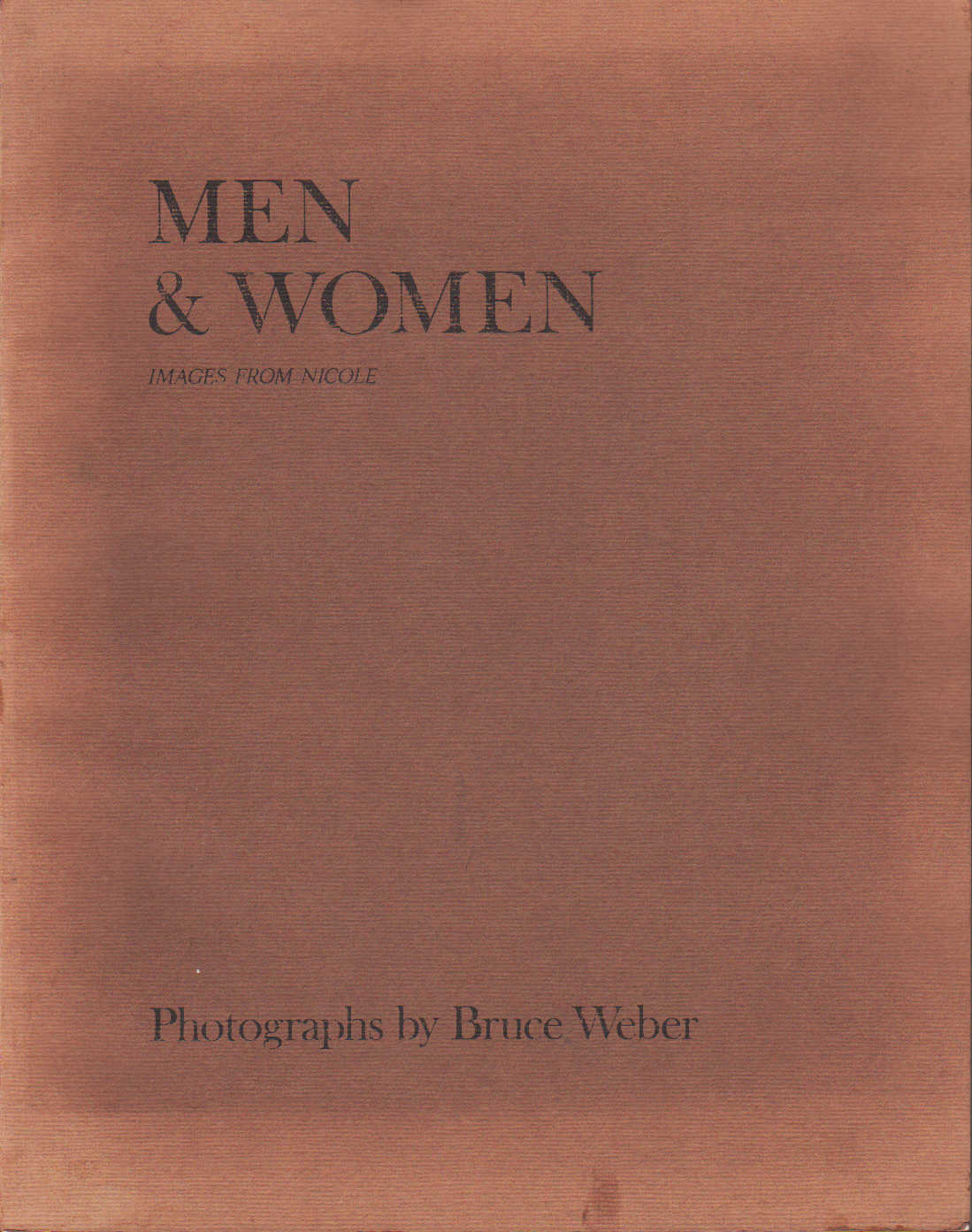 Men & Women. Images From Nicole