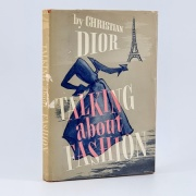 Christian Dior. Talking about Fashion to Elie Ravourdin and Alice Chavane