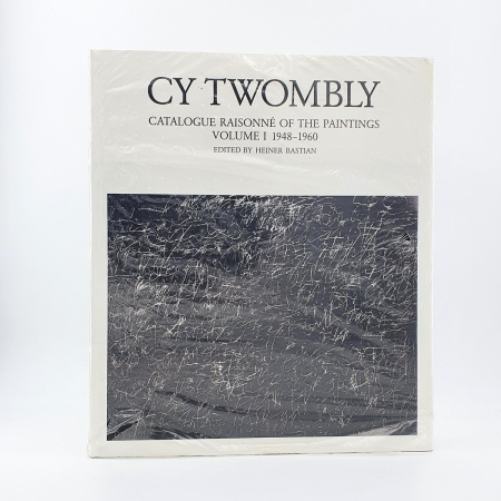Cy Twombly. Catalogue Raisonne of the Paintings. Volume I. 1948-1960